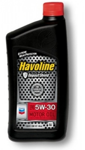Chevron Havoline Motor Oil