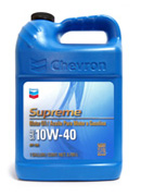 Chevron Supreme Motor Oils